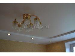 Двухуровневый потолок 12 кв м