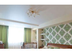 Белый сатиновый натяжной потолок 20 кв м