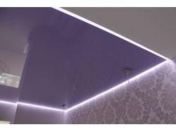 Парящий натяжной потолок 18 кв м