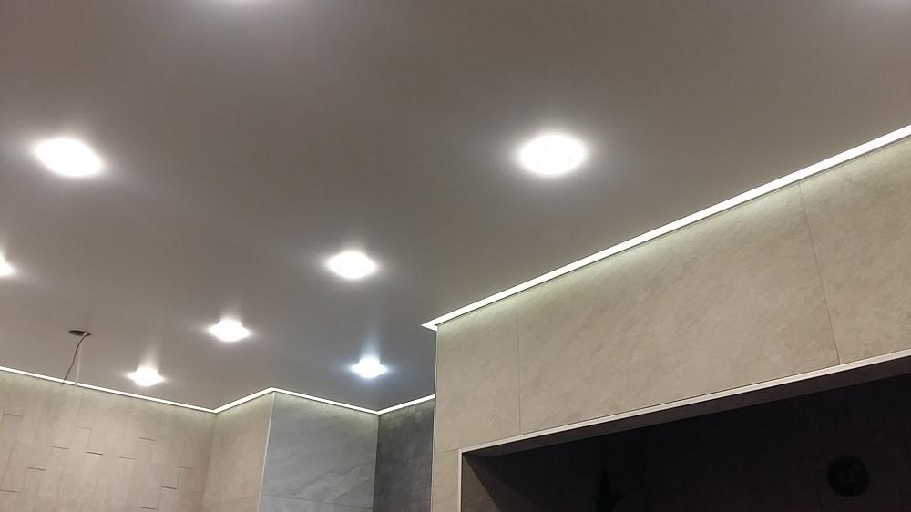контурная подсветка натяжного потолка