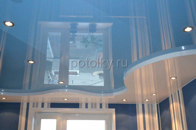 Дизайн двухуровневых потолков: актуальные решения | Статьи | 530x796