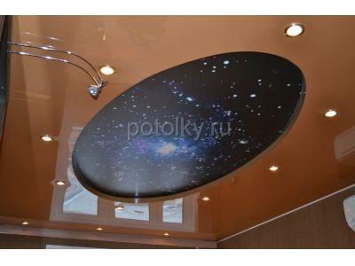 Купить Многоуровневые натяжные потолки по отличным ценам в Москве и области