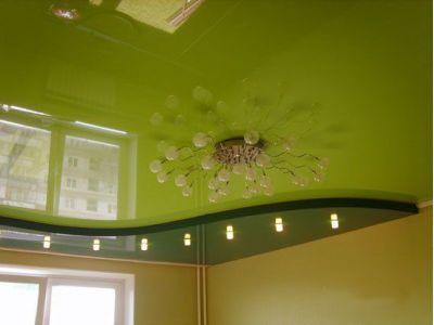 Купить Многоуровневый натяжной потолок цена с установкой в Москве в Москве и области