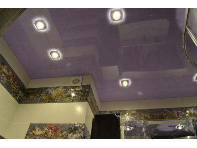 Купить Натяжной потолок для ванной 4 кв в Москве и области