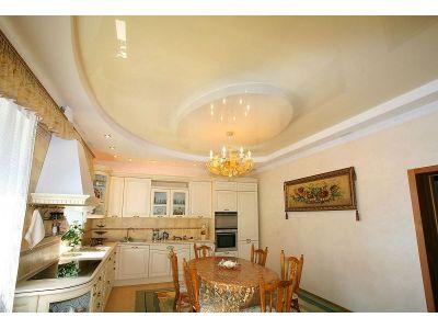 Купить Натяжные потолки на кухне 9 кв с установкой в Москве и области