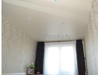 Купить Матовый натяжной потолок 14 кв м в Москве и области