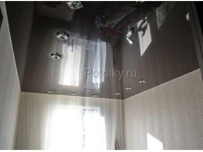 Купить Цветной глянцевый натяжной потолок 15 кв м в Москве и области