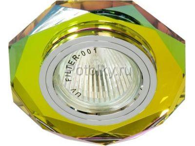 Купить 8020-2 восьмиугольник Цвет 5-мультиколор серебро в Москве и области