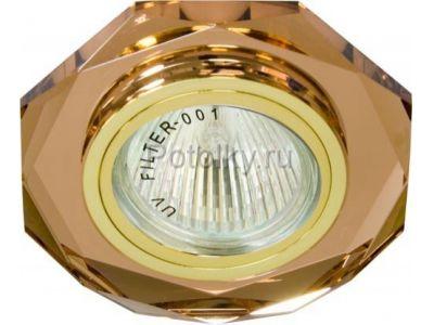 Купить 8020-2 восьмиугольник Цвет коричневый золото в Москве и области