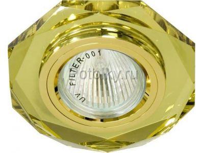 Купить 8020-2 восьмиугольник Цвет желтый  золото в Москве и области