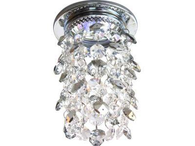 Купить A226 Цвет прозрачный-серебряный  хром в Москве и области