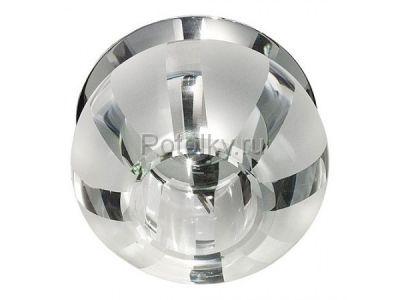 Купить C1034S JCD9 G9 с прозрачным стеклом, хром в Москве и области