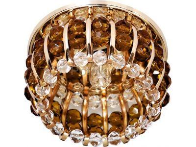Купить CD2119 Цвет прозрачный-коричневый  золото в Москве и области