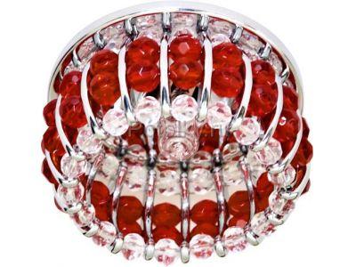 Купить CD2119 Цвет прозрачный-красный  хром в Москве и области