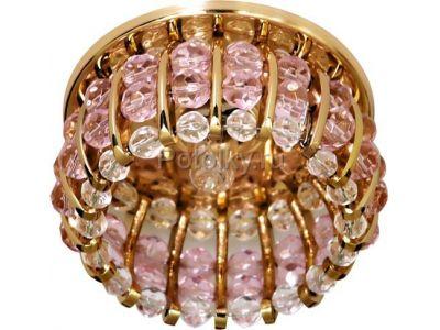 Купить CD2119 Цвет прозрачный-розовый  золото в Москве и области