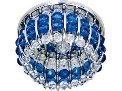 Купить CD2119 Цвет прозрачный-синий  хром в Москве и области