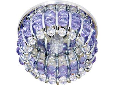 Купить CD2119 Цвет прозрачный-сиреневый  хром в Москве и области