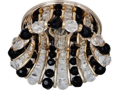 Купить CD2120 Цвет прозрачный-черный  золото в Москве и области