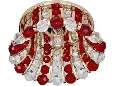 Купить CD2120 Цвет прозрачный-красный  золото в Москве и области