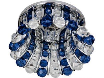 Купить CD2120 Цвет прозрачный-синий  хром в Москве и области