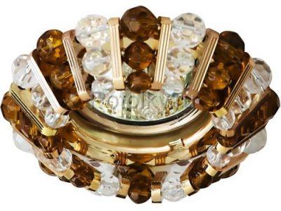 Купить CD2121 Цвет  прозрачный-коричневый  золото в Москве и области