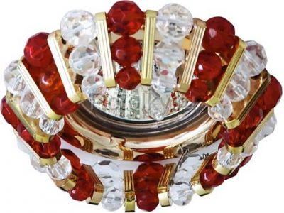 Купить CD2121 Цвет прозрачный-красный  золото в Москве и области