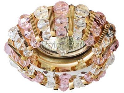 Купить CD2121 Цвет прозрачный-розовый золото в Москве и области