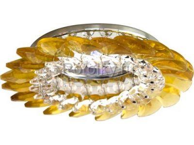 Купить CD2313 Цвет прозрачный-желтый  хром в Москве и области