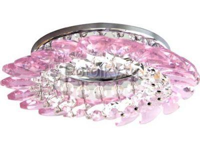 Купить CD2313 Цветпрозрачный-розовый  хром в Москве и области