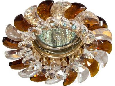 Купить CD2316 Цвет прозрачный-коричневый  золото в Москве и области