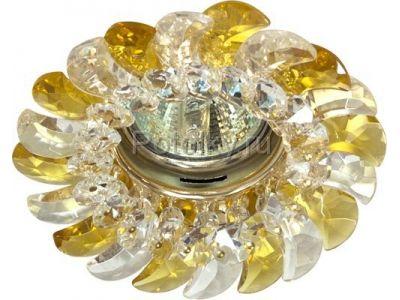 Купить CD2316 Цвет прозрачный-желтый  золото в Москве и области