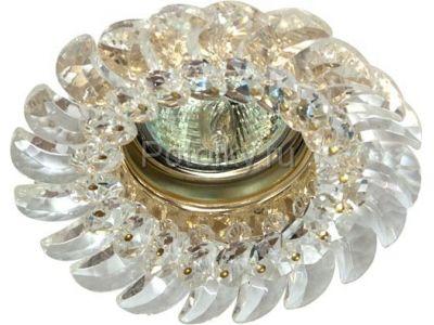 Купить CD2316 Цвет прозрачный  золото в Москве и области