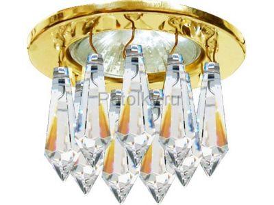 Купить DL4160 Цвет прозрачный  золото в Москве и области