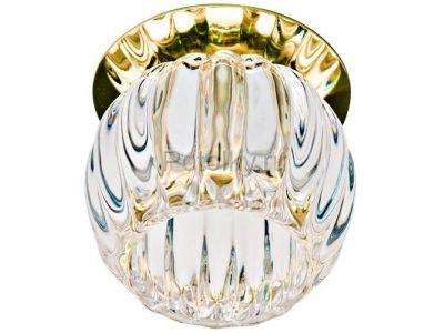 Купить JD93 35W G9 прозрачный - золото в Москве и области
