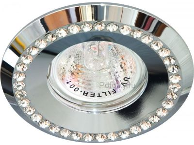 Купить Светильник потолочный, прозрачный, хром,DL104-C в Москве и области