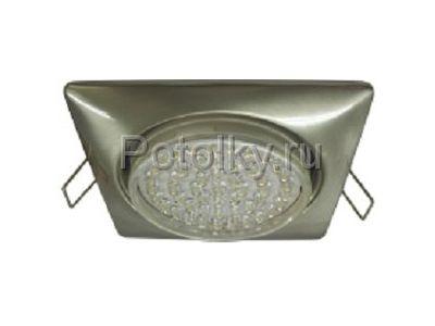 Купить Сатин-хром GX53 квадратный в Москве и области