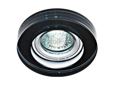 Купить Светильник потолочный, MR16 50W G5.3 черный, серебро,8080-2 в Москве и области