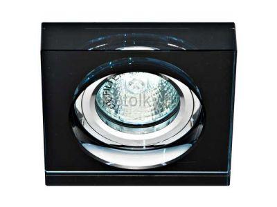 Купить Светильник потолочный, MR16 50W G5.3 черный, серебро,8180-2 в Москве и области