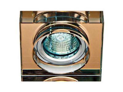 Купить Светильник потолочный,  коричневый, серебро,8180-2 в Москве и области