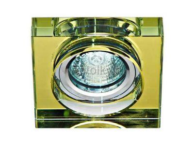 Купить Светильник потолочный,  желтый, серебро,8180-2 в Москве и области