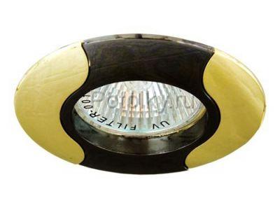 Купить Светильник потолочный, MR16 G5.3 черный-золото, 020Т-MR16 в Москве и области