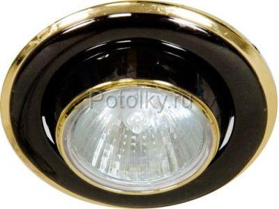 Купить Светильник потолочный, MR16 G5.3 черный-золото, 301-MR16 в Москве и области