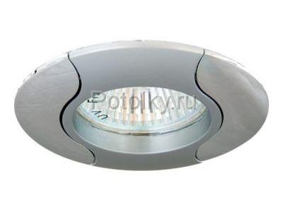 Купить Светильник потолочный, MR16 G5.3 серый-хром, 020Т-MR16 в Москве и области