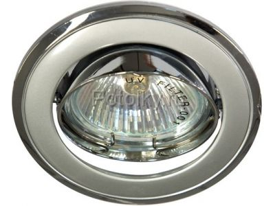 Купить Светильник потолочный, MR16 G5.3 серый-хром, 301T-MR16 в Москве и области