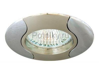Купить Светильник потолочный, MR16 G5.3 титан-хром, 020Т-MR16 в Москве и области