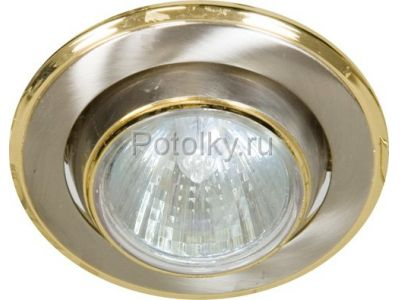 Купить Светильник потолочный, MR16 G5.3 титан-золото, 301-MR16 в Москве и области