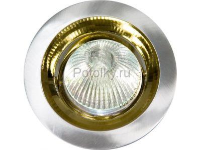 Купить Светильник потолочный, MR16 G5.3 титан-золото, DL2009 в Москве и области