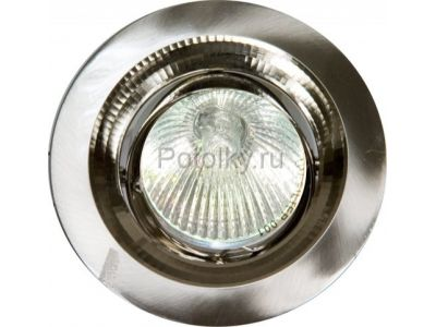 Купить Светильник потолочный, MR16 G5.3 титан, DL2009 в Москве и области
