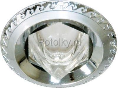 Купить Светильник потолочный, MR16 G5.3 жемчужный хром-хром,1730 в Москве и области