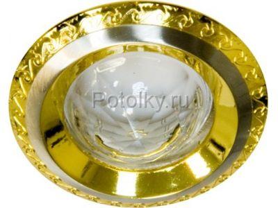 Купить Светильник потолочный, MR16 G5.3 золото-хром,1731 в Москве и области